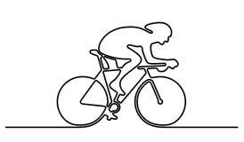 Logotipo de la bicicleta Fotografía de archivo