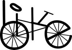 Logotipo de la bicicleta ligature Imagen de archivo libre de regalías
