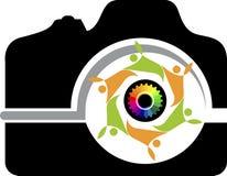 Logotipo de la cámara de los pares libre illustration