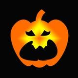 Logotipo de la calabaza Stock de ilustración
