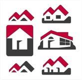 Logotipo de la casa stock de ilustración