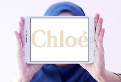 Logotipo de la casa de moda de Chloé Fotografía de archivo