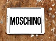 Logotipo de la casa de moda de Moschino Fotografía de archivo
