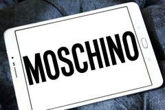 Logotipo de la casa de moda de Moschino Fotos de archivo