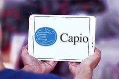 Logotipo de la compañía de la atención sanitaria de Capio imágenes de archivo libres de regalías