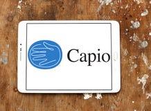 Logotipo de la compañía de la atención sanitaria de Capio fotografía de archivo