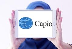 Logotipo de la compañía de la atención sanitaria de Capio imagen de archivo libre de regalías