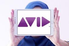 Logotipo de la compañía de Avid Technology Foto de archivo libre de regalías