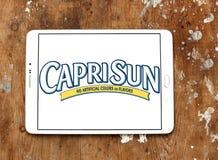 Logotipo de la compañía de la bebida del jugo de Capri Sun Foto de archivo libre de regalías