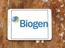 Logotipo de la compañía de biotecnología de Biogen Foto de archivo
