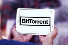 Logotipo de la compañía de BitTorrent fotos de archivo libres de regalías