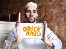 Logotipo de la compañía de Candyking Fotografía de archivo