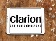 Logotipo de la compañía de Clarion imágenes de archivo libres de regalías