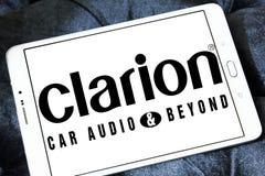 Logotipo de la compañía de Clarion fotos de archivo