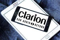 Logotipo de la compañía de Clarion foto de archivo