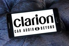 Logotipo de la compañía de Clarion imagenes de archivo