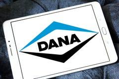 Logotipo de la compañía de Dana imágenes de archivo libres de regalías