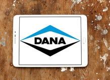 Logotipo de la compañía de Dana imagen de archivo