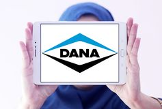 Logotipo de la compañía de Dana imagenes de archivo