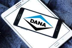 Logotipo de la compañía de Dana foto de archivo
