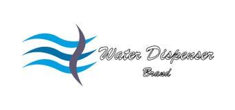Logotipo de la compañía de agua Foto de archivo libre de regalías