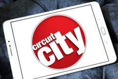 Logotipo de la compañía de Circuit City Fotos de archivo