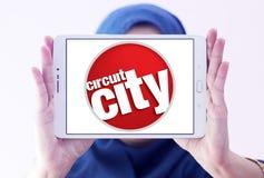 Logotipo de la compañía de Circuit City Imágenes de archivo libres de regalías