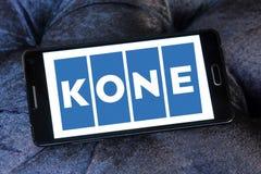 Logotipo de la compañía de Kone Fotografía de archivo libre de regalías