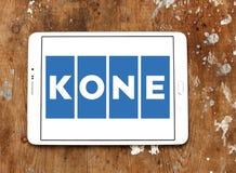 Logotipo de la compañía de Kone Imágenes de archivo libres de regalías