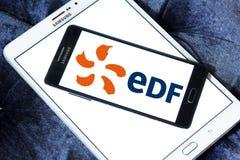 Logotipo de la compañía de la energía de FED Imagen de archivo