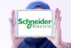 Logotipo de la compañía de la energía de Schneider Electric Imagen de archivo libre de regalías