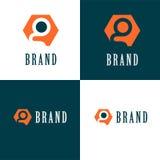 Logotipo de la compañía de la letra de G Foto de archivo libre de regalías