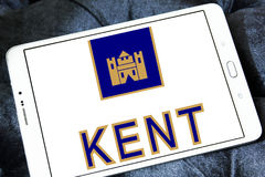 Logotipo de la compañía de los cigarrillos de Kent fotografía de archivo libre de regalías
