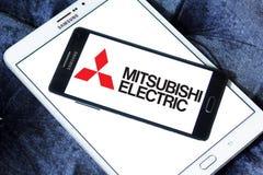 Logotipo de la compañía de Mitsubishi Electric Fotografía de archivo libre de regalías