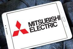 Logotipo de la compañía de Mitsubishi Electric Fotografía de archivo
