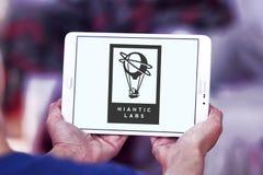 Logotipo de la compañía de Niantic Imágenes de archivo libres de regalías