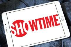 Logotipo de la compañía de radiodifusión de Showtime foto de archivo
