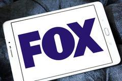 Logotipo de la compañía de radiodifusión del Fox foto de archivo libre de regalías