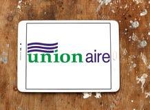 Logotipo de la compañía de Unionaire Fotografía de archivo