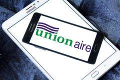 Logotipo de la compañía de Unionaire Foto de archivo libre de regalías