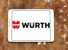 Logotipo de la compañía de Wurth Fotografía de archivo libre de regalías