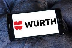 Logotipo de la compañía de Wurth Imágenes de archivo libres de regalías