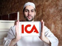 Logotipo de la compañía del AIC Foto de archivo