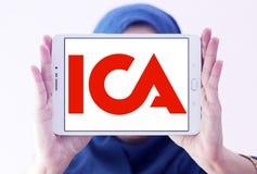 Logotipo de la compañía del AIC Fotos de archivo