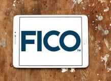 Logotipo de la compañía del analytics de los datos de FICO fotografía de archivo libre de regalías