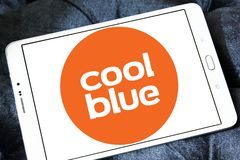 Logotipo de la compañía del comercio electrónico de Coolblue Fotografía de archivo libre de regalías