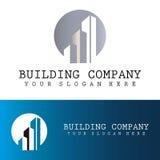 Logotipo de la compañía del edificio Imagenes de archivo