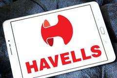 Logotipo de la compañía del equipo eléctrico de Havells fotos de archivo libres de regalías