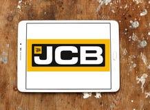 Logotipo de la compañía del JCB imagenes de archivo