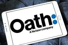 Logotipo de la compañía del juramento fotos de archivo libres de regalías